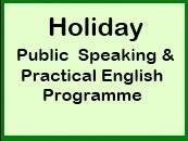 Holiday Programme